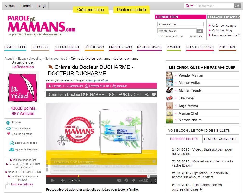 Parole de Maman.com