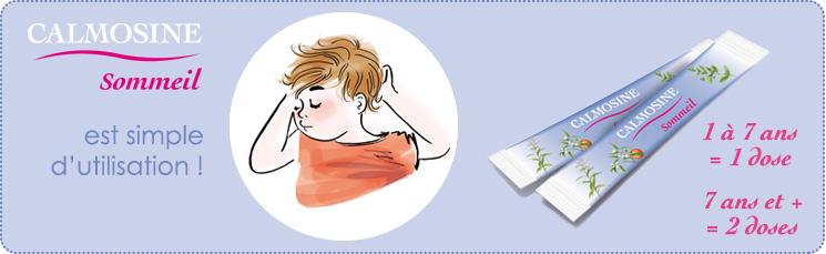 Conseils d'utilisation de Calmosine sommeil