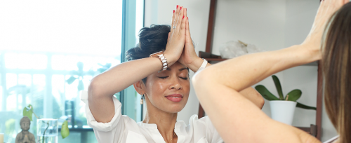 Le yoga contre le manque de sommeil de maman